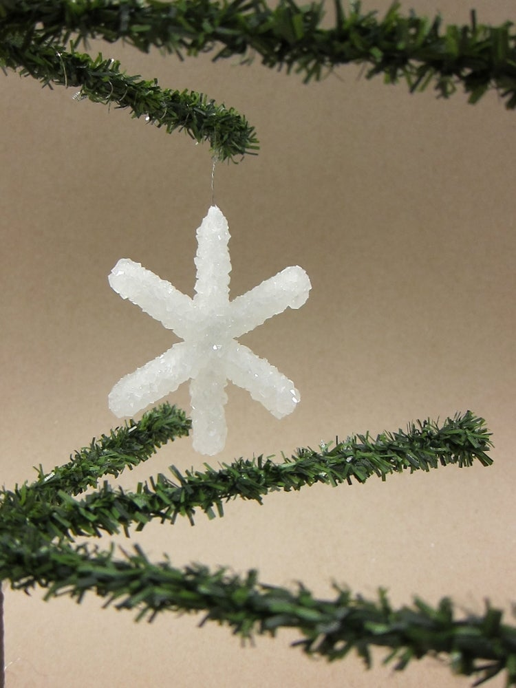 How to Make a Borax Crystal Snowflake forecast