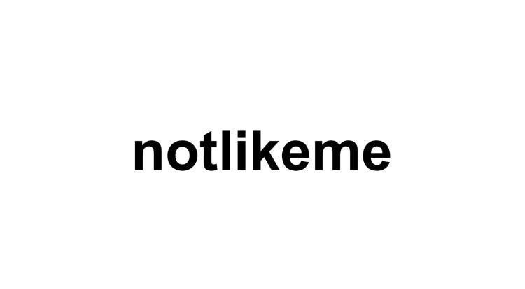notlikeme's account image