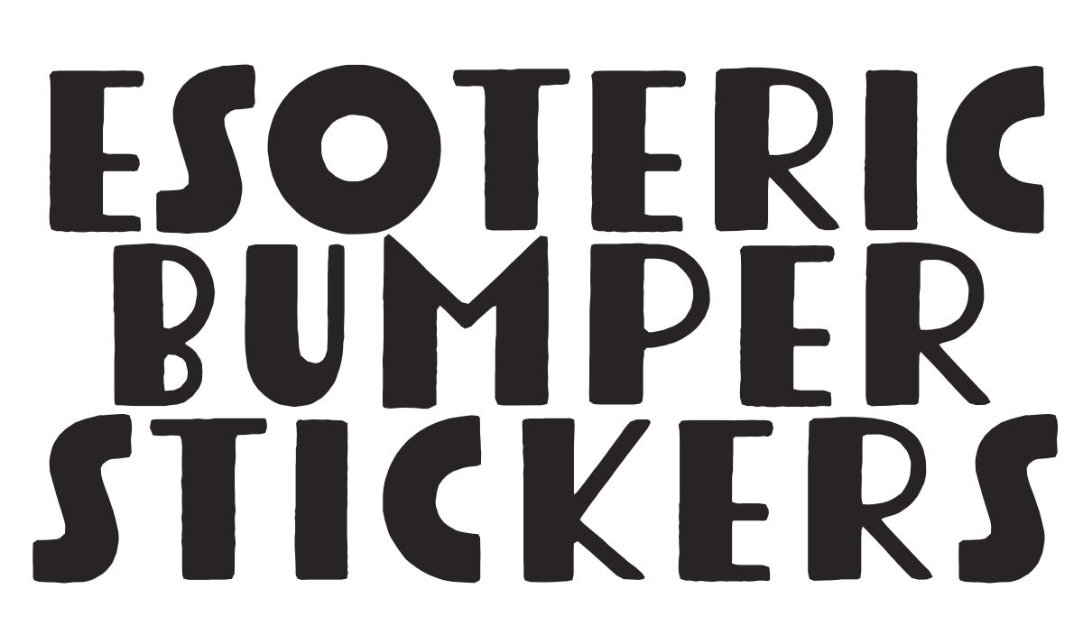 Esoteric Bumper Stickers's account image