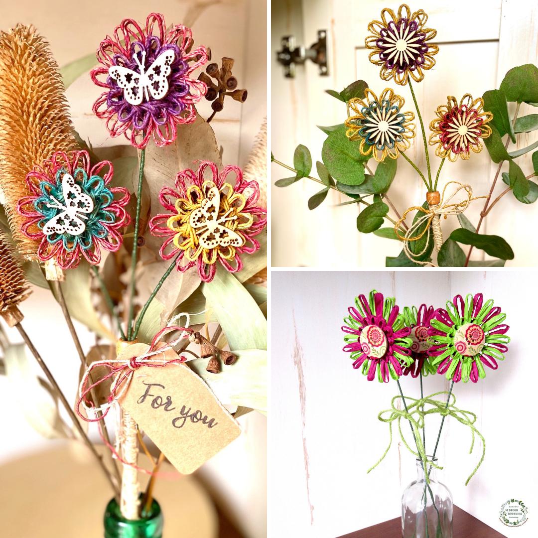 Floral stems home decor M Decor Botanica