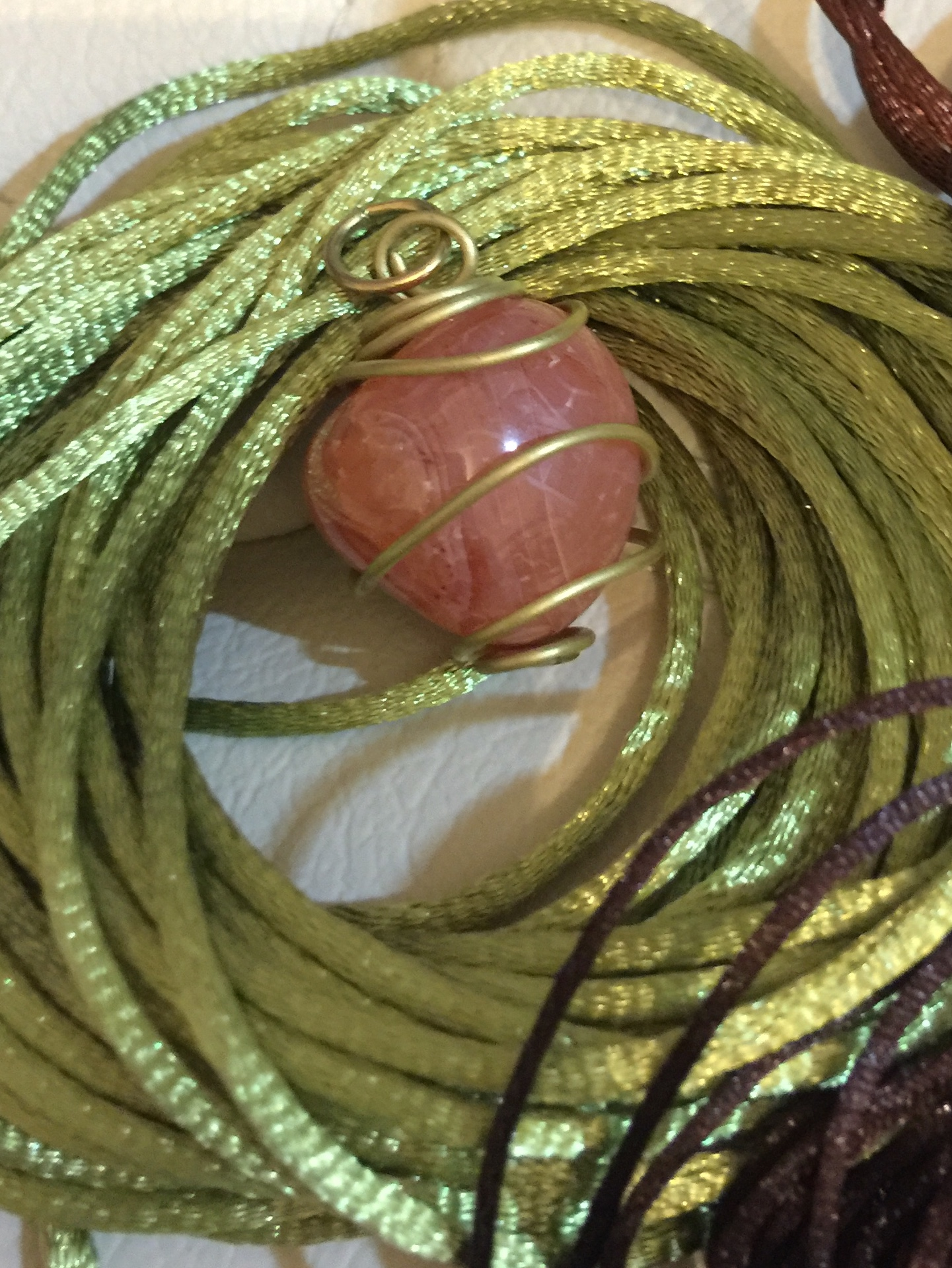 Bespoke Cords for Necklaces