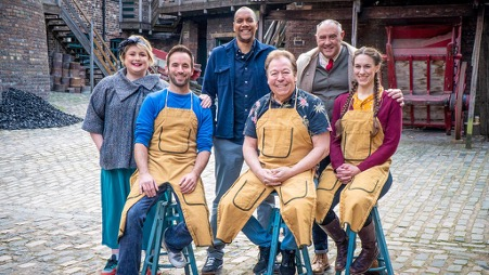 Finalists of The Great Pottery Throw Down