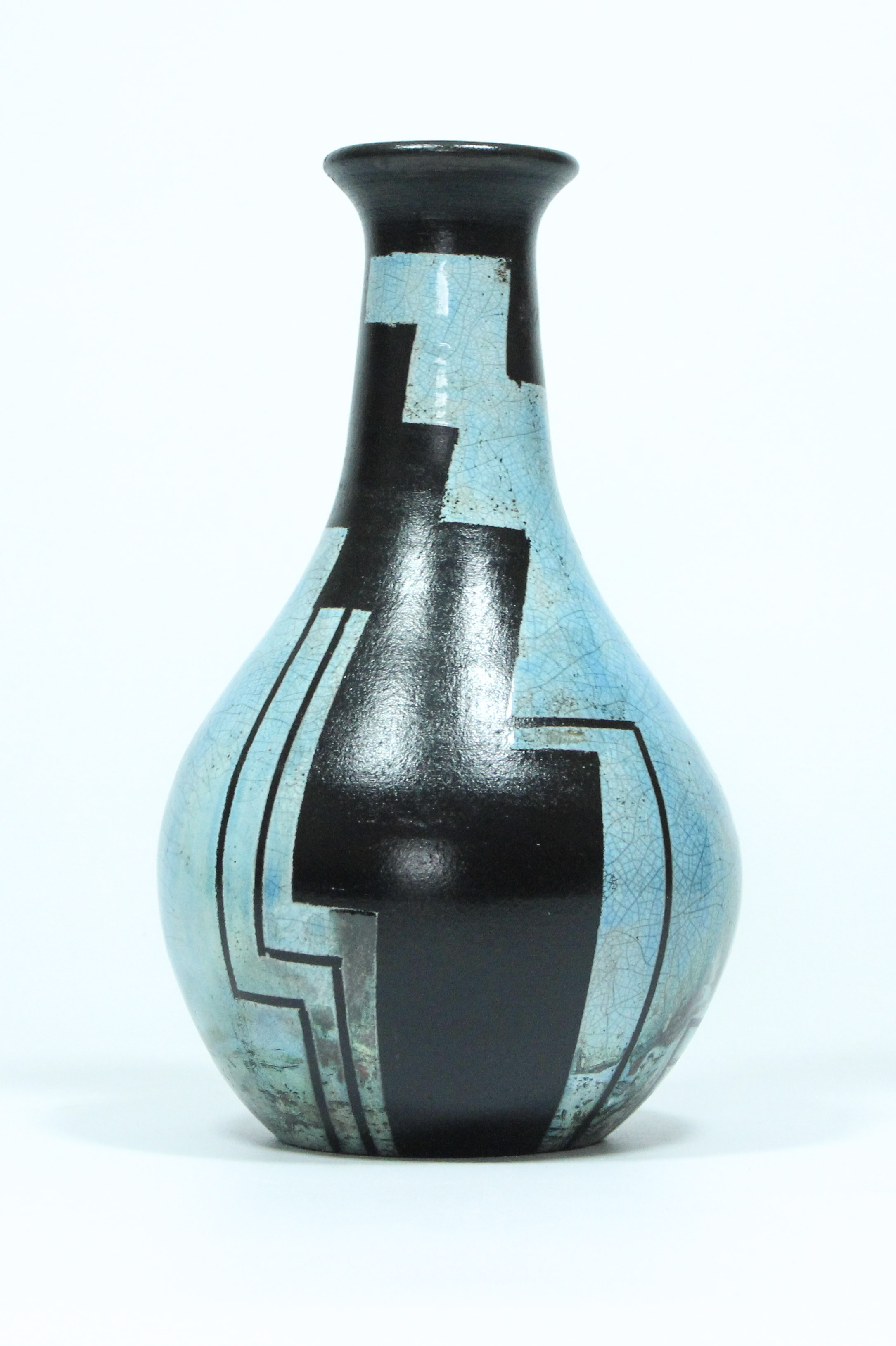 Peter White Large Raku 3 Woburn Sands Clay The Great Pottery Throw Down
