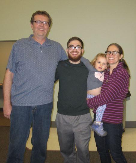 Family at Whole30 Potluck