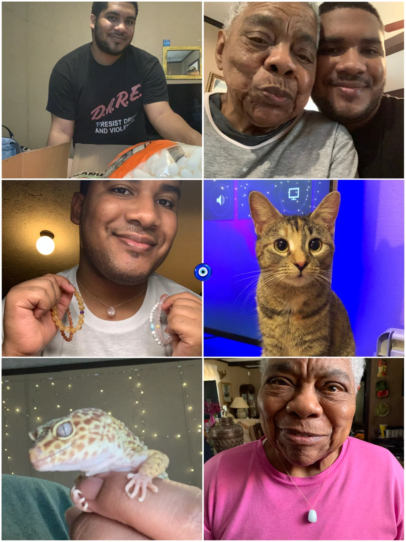 Photo Collage of Me and My Family
