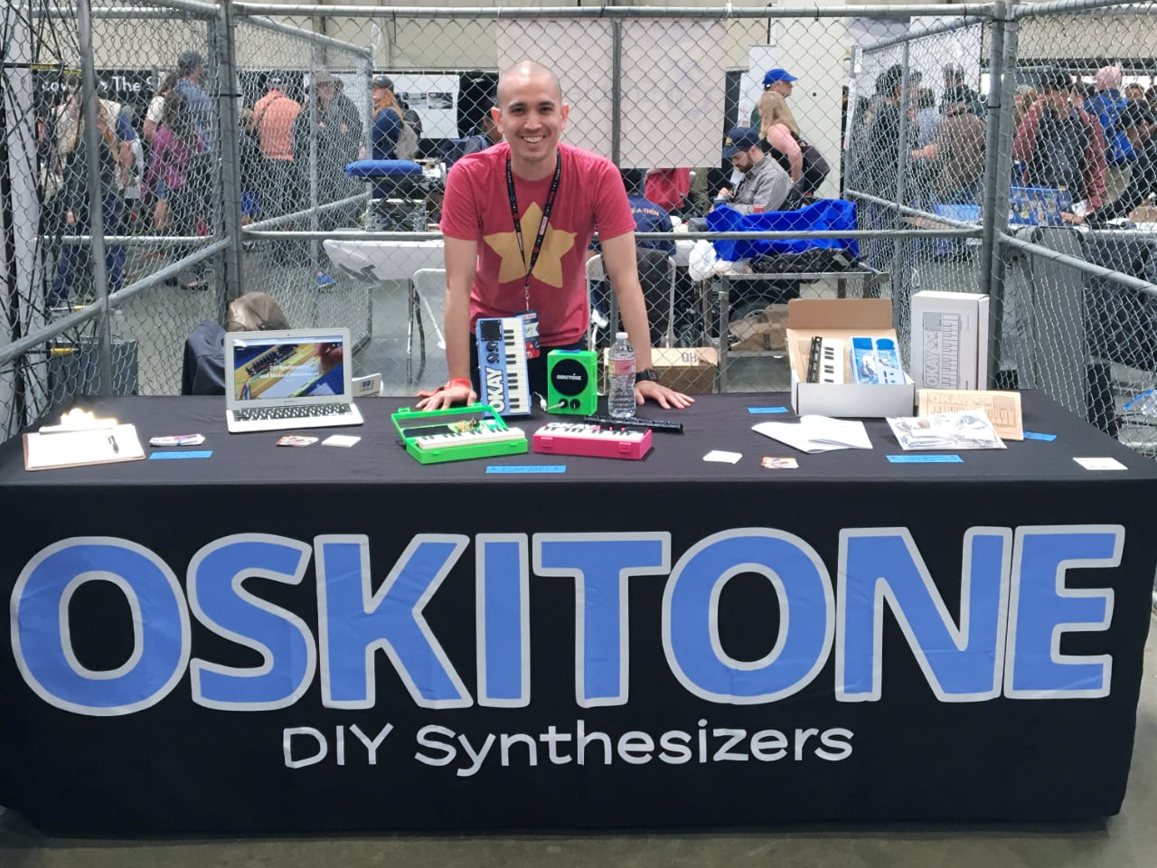 Oskitone at Maker Faire