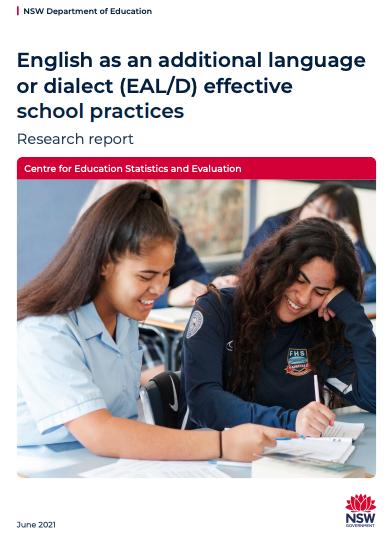 EALD effective school practices report