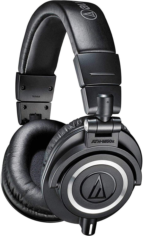 Audio-Technica ATHM50XBT Wireless Bluetooth Over-Ear Headphones