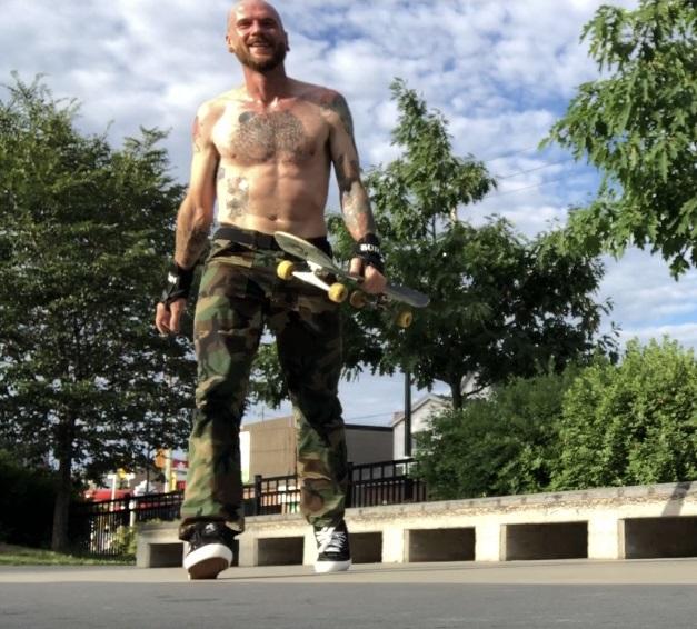 Eric Martin - Troubl3 Skateboards