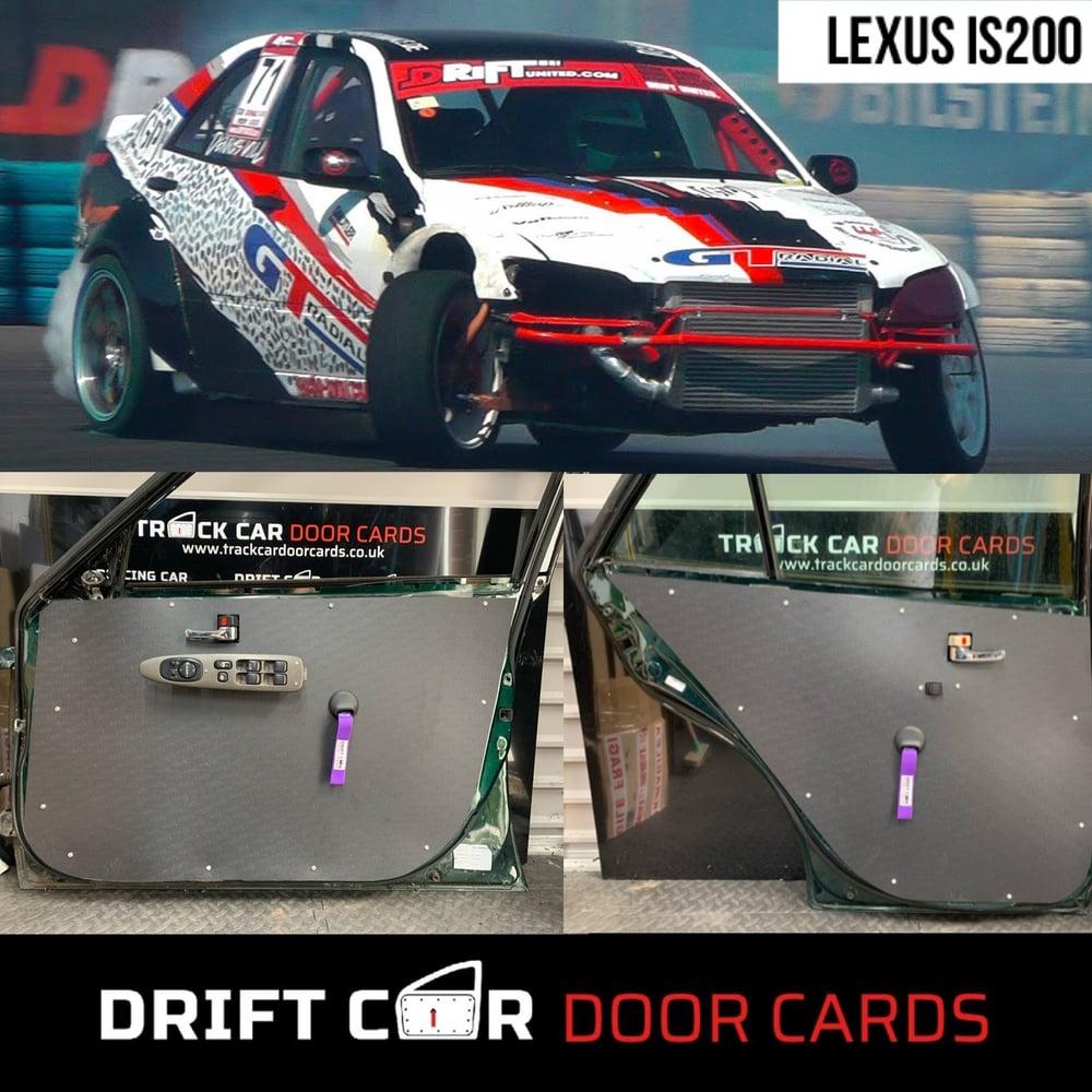 Image of Lexus IS200 Drift / Track Car Door Cards