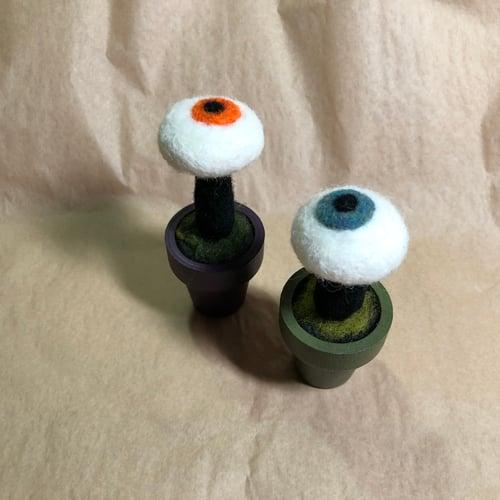 Image of spoopy mushroom friends