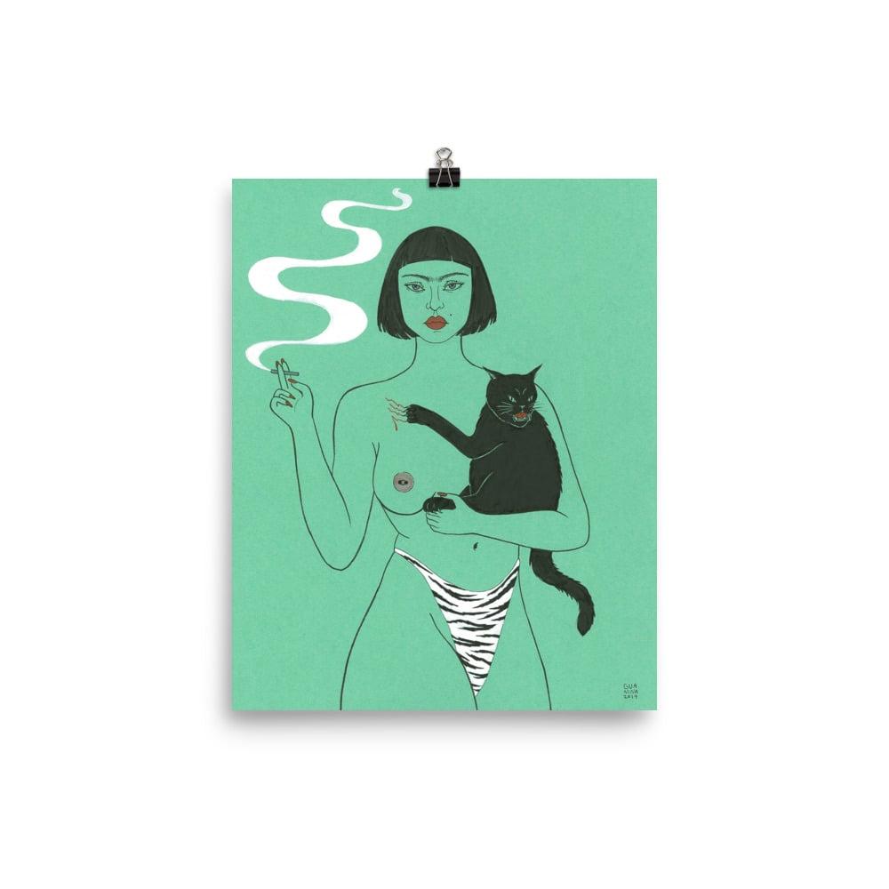 Image of Gata Art Print