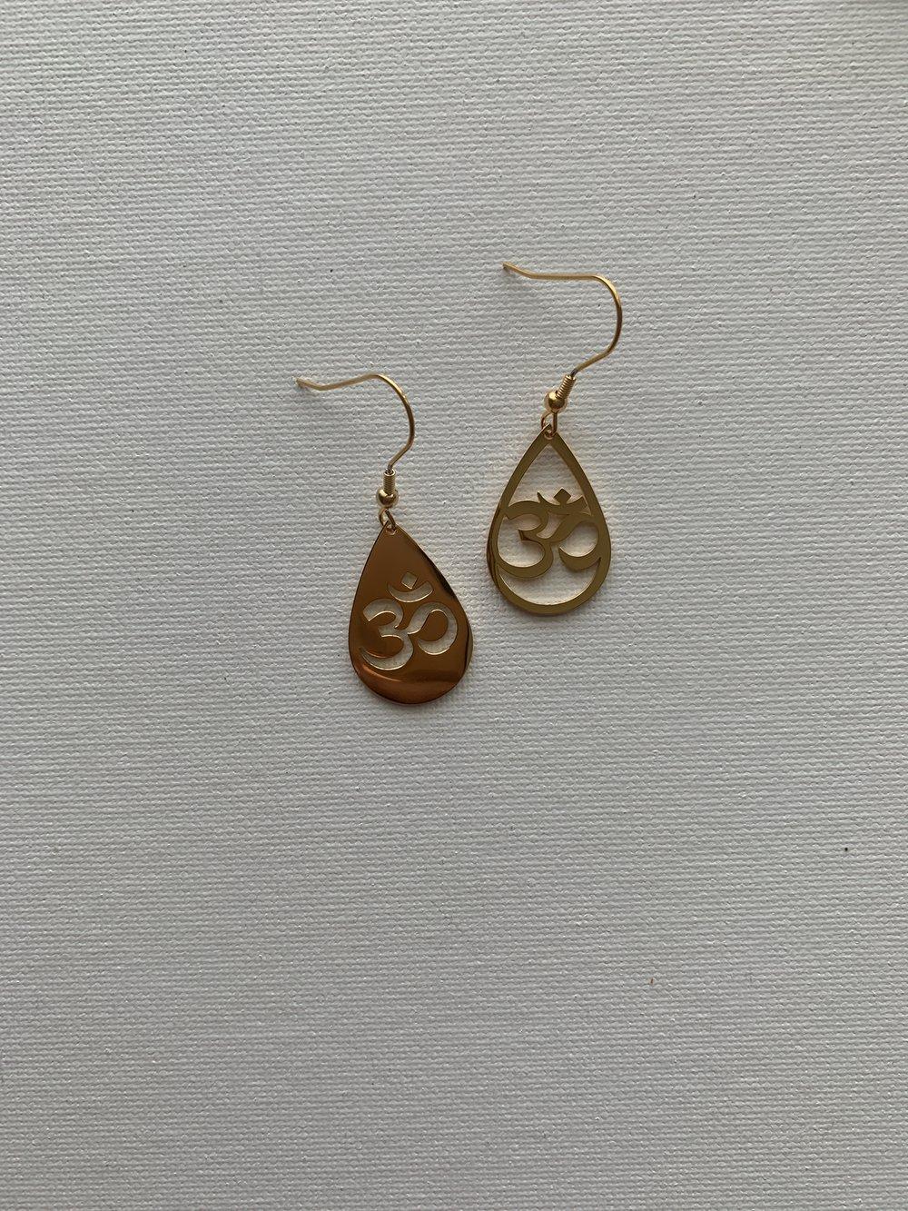 Image of OG OMI •Om Earrings