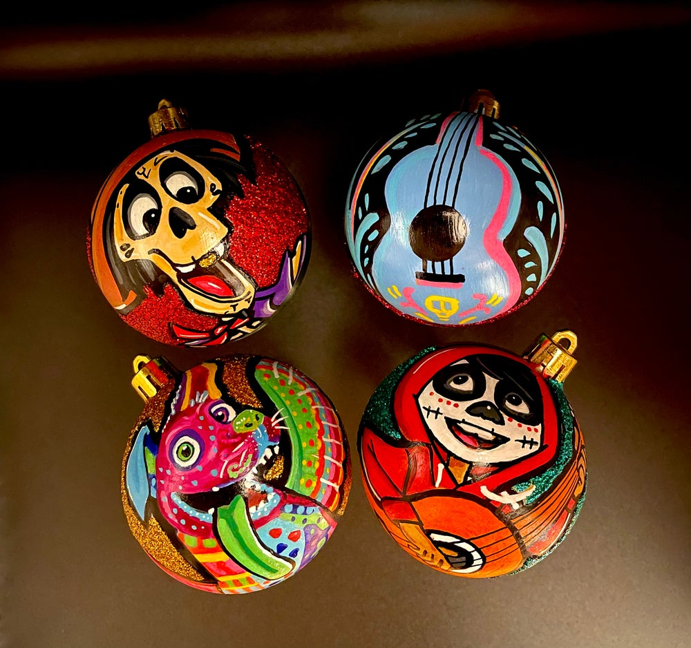 Coco Inspired Ornaments