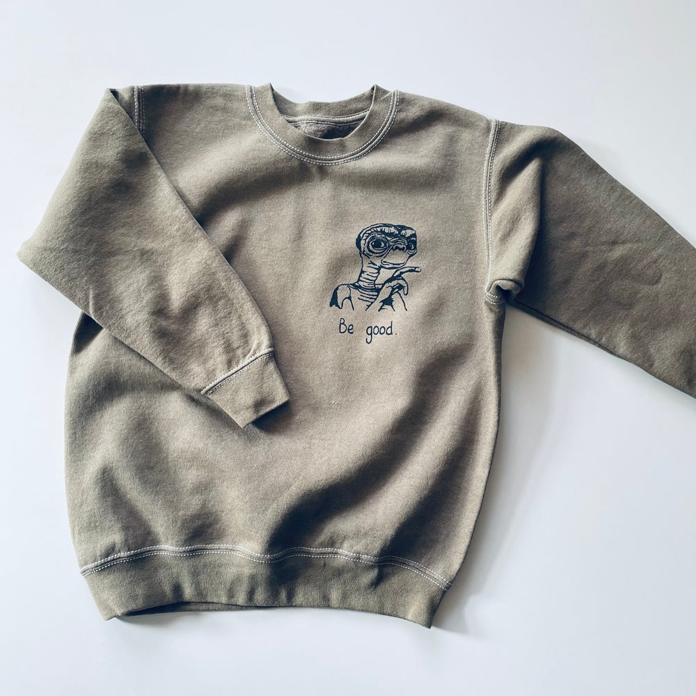 Reworked Be Good Sweater Dirt