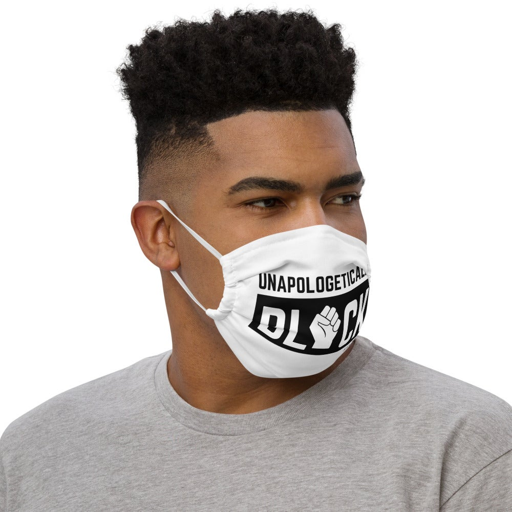 Image of Unapologetically Black Premium face mask