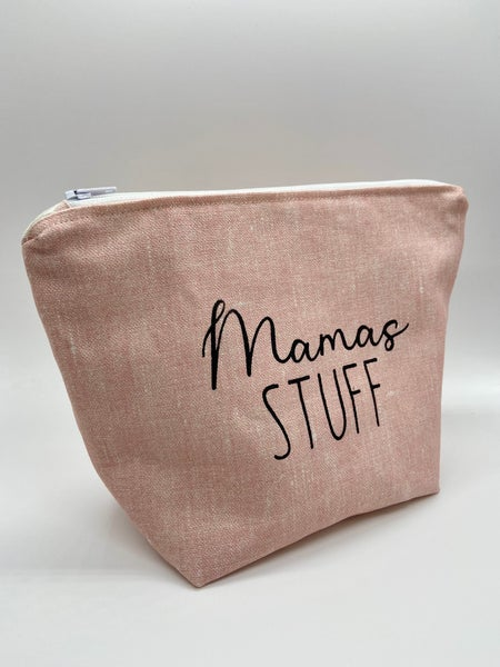 Image of Mamma's Stuff or Baby Crap zipper pouch