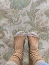 Cashmere Two Tone Socks