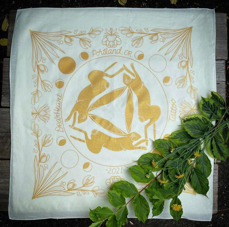 Image of hand made bandana