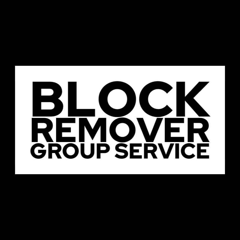 Image of Block Remover Group Service