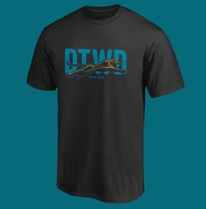 Image of DTWD - From the jump - black colorway