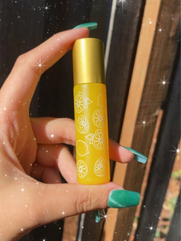 Image of lemon drop oil roller