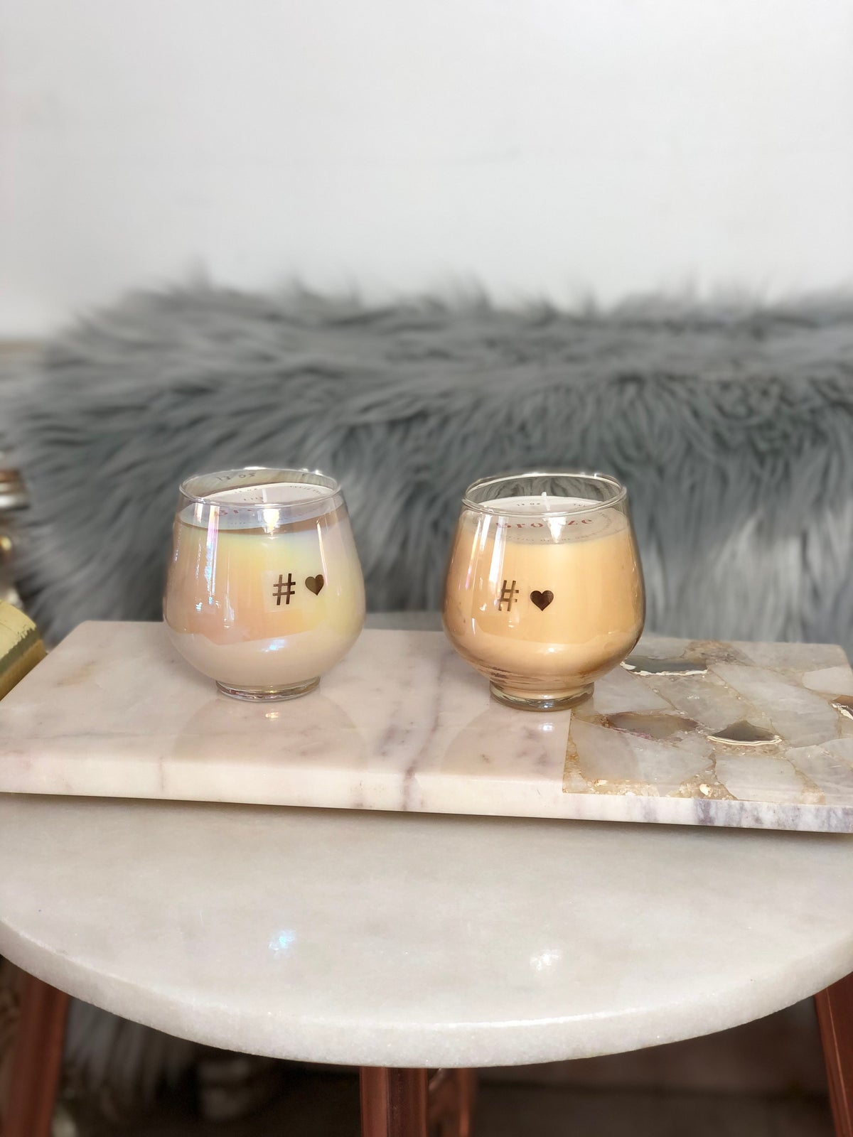 Image of Lily Bronze Candle