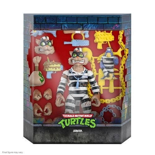 Image of TMNT Ultimates Scratch 7-Inch Action Figure