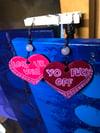 Convo Heart Earrings
