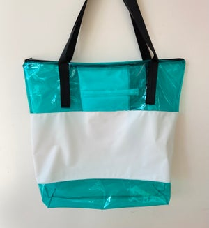 Image of Large Beach Bag / Tote - Recycled Swimming Pool