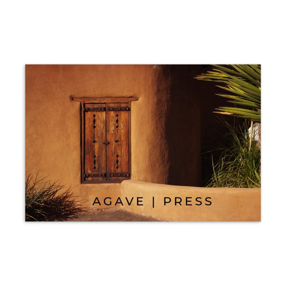 Image of Agave Press postcard