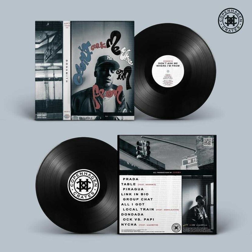 """CLASSIC BLACK 12"""" Vinyl - """"Don't Ask Me Where I'm From"""""""