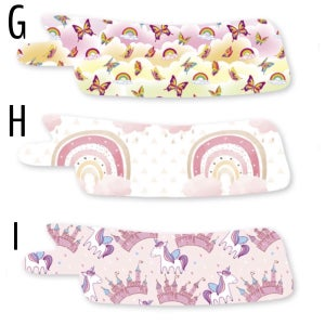Image of Nasogastric Patch - Floral - Magical - Butterflies