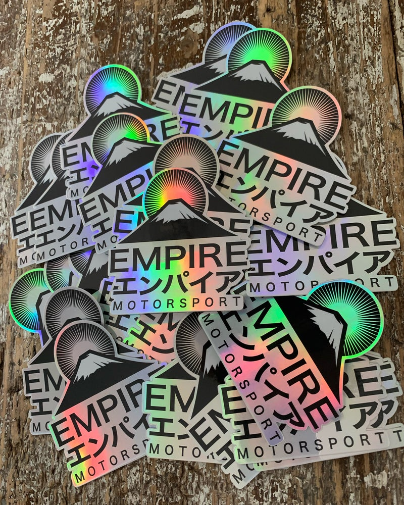 Image of Empire Holographic Stickers