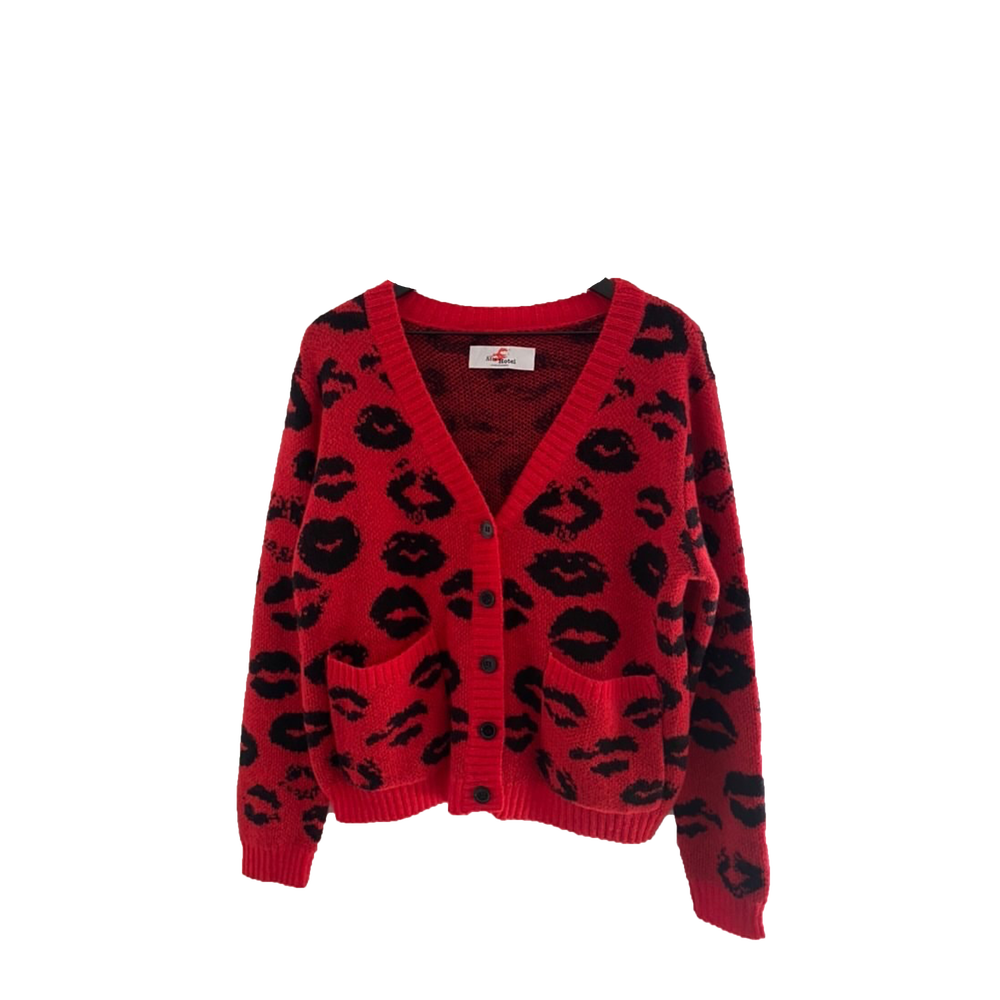 Image of Spotted Kiss Cardigan