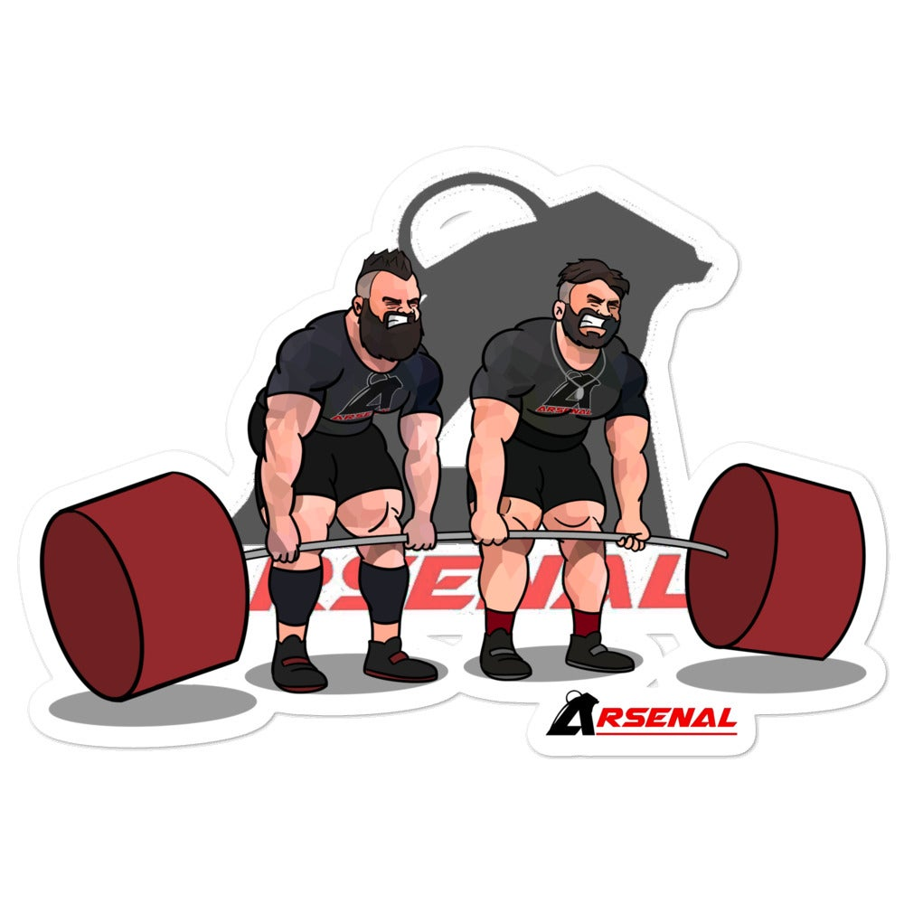 Image of Tandem Deadlift Sticker
