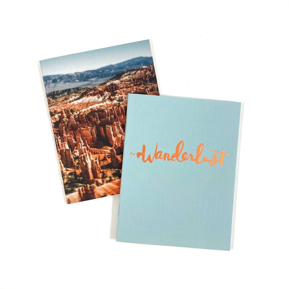 Image of Wanderlust Notebook Set