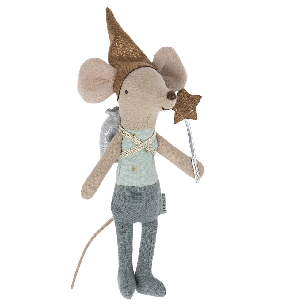 Image of Maileg - Tooth Fairy Mouse Blue (Pre-order)