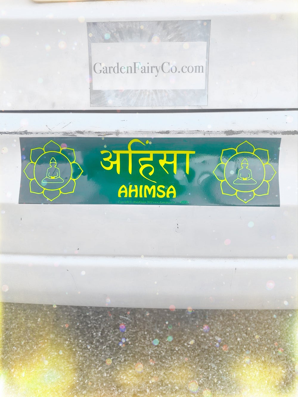 Image of Ahimsa Bumper Sticker