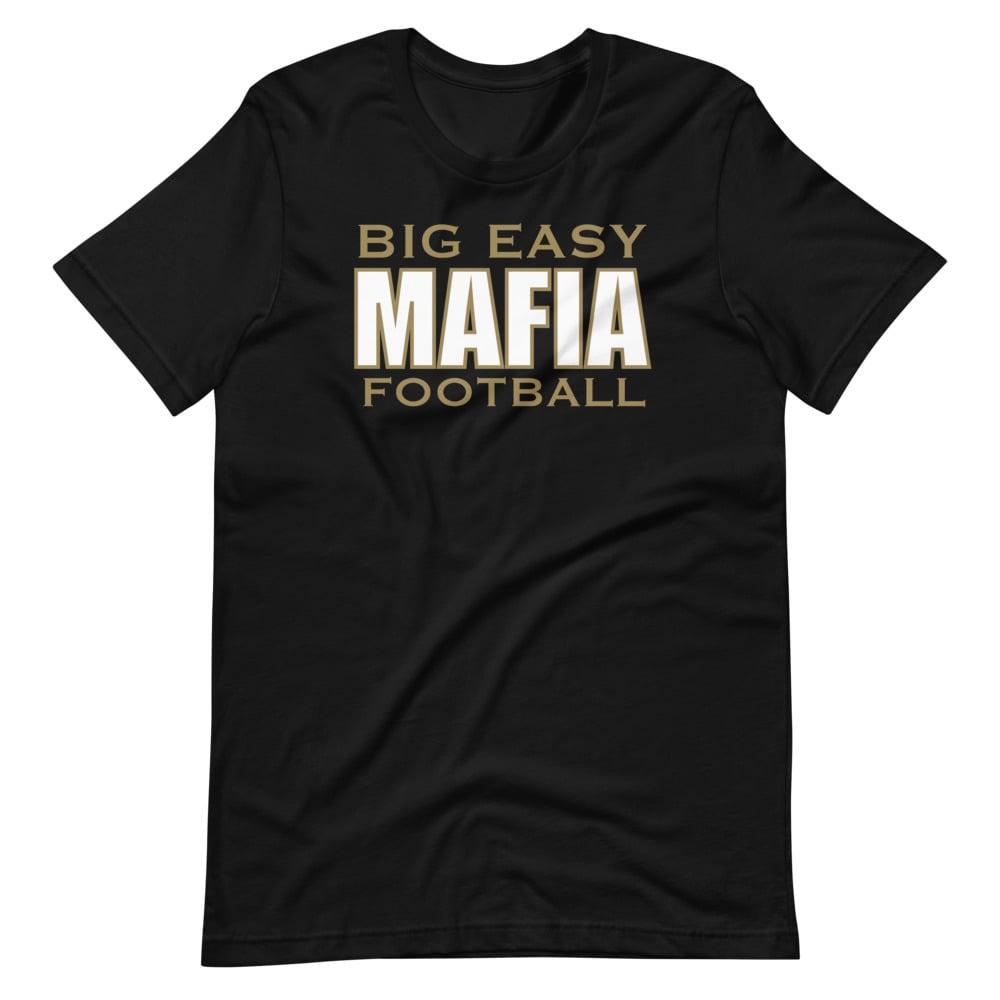 Image of Big Easy Mafia Football Unisex Tee