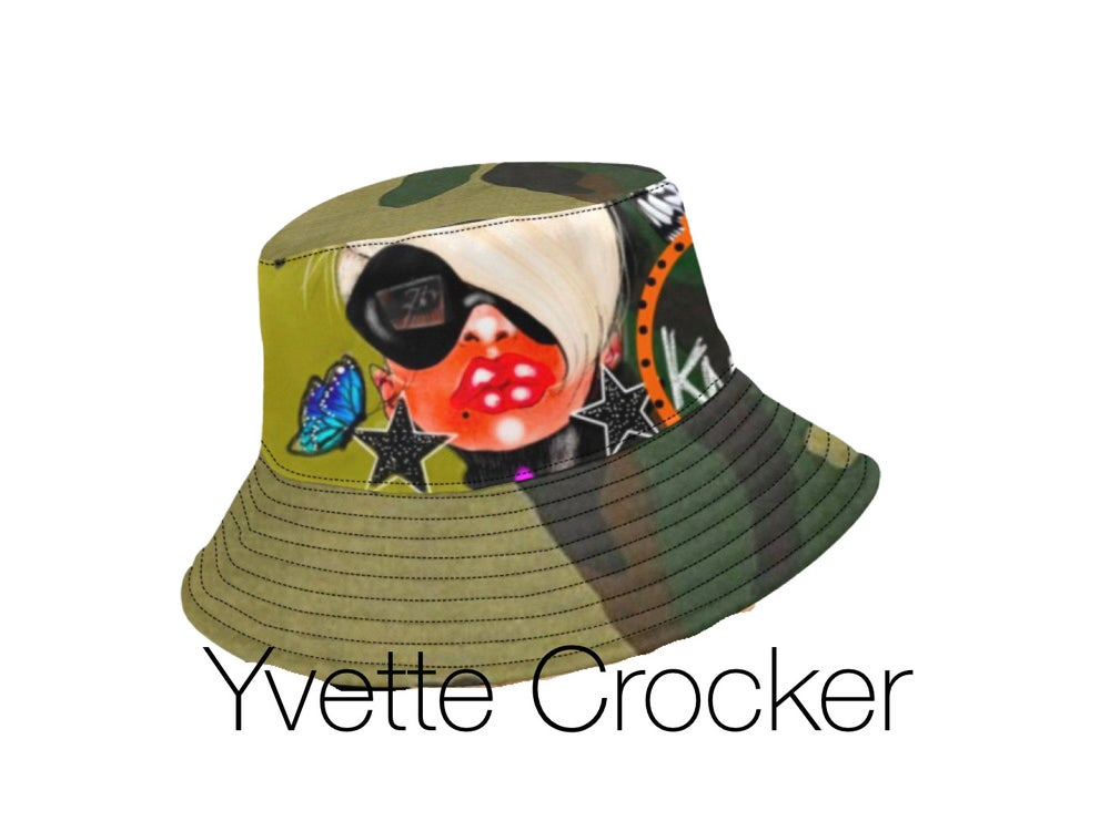 Image of I AM ART BUCKET HAT