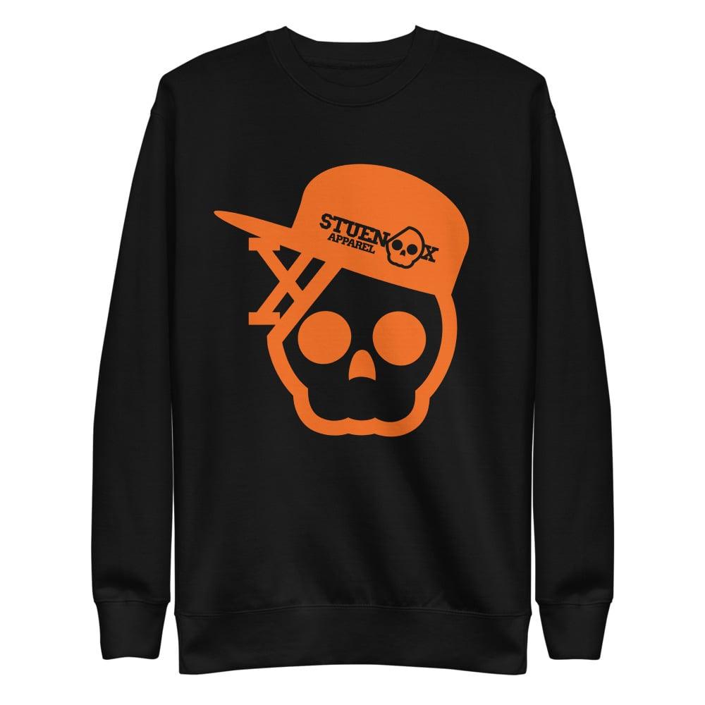Image of Orange Madness Unisex Fleece Pullover