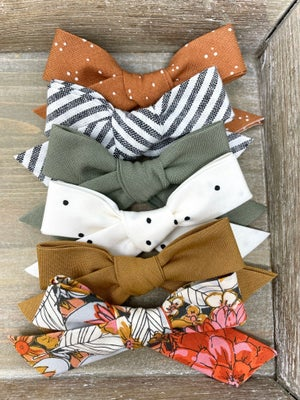 Image of Hand Tied Cotton Fall Bows (Sold Separatley)