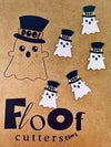 Tucker the Ghost Edible Toppers and Confetti