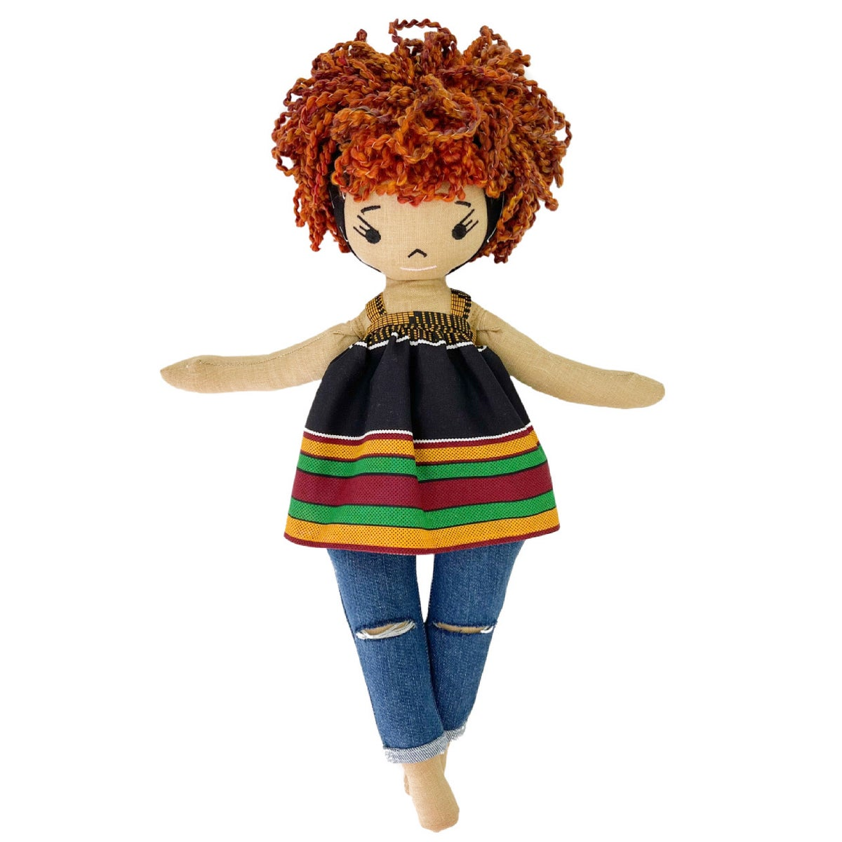 Tomiko More to Love Handmade Linen Doll (Waitlist Preorder Item - ship date Oct 1-Mar 30,2022)