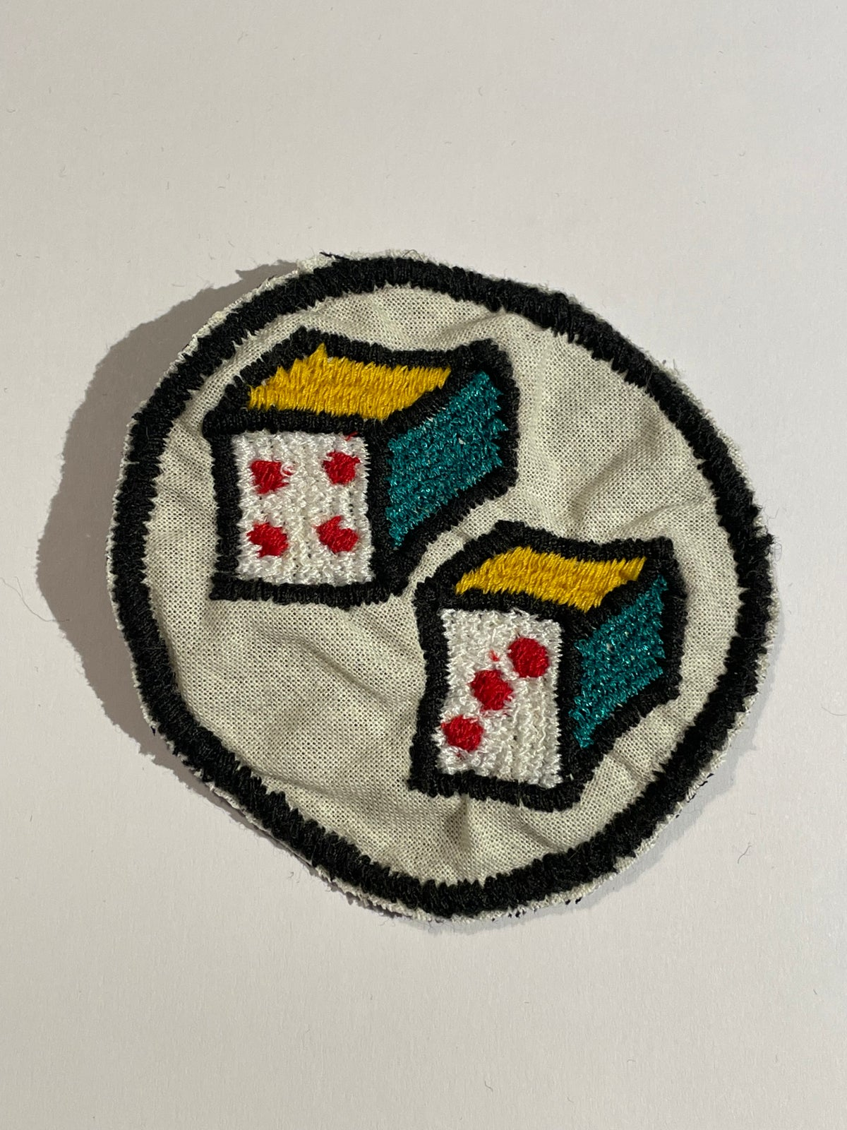 Image of Dice patch. 4