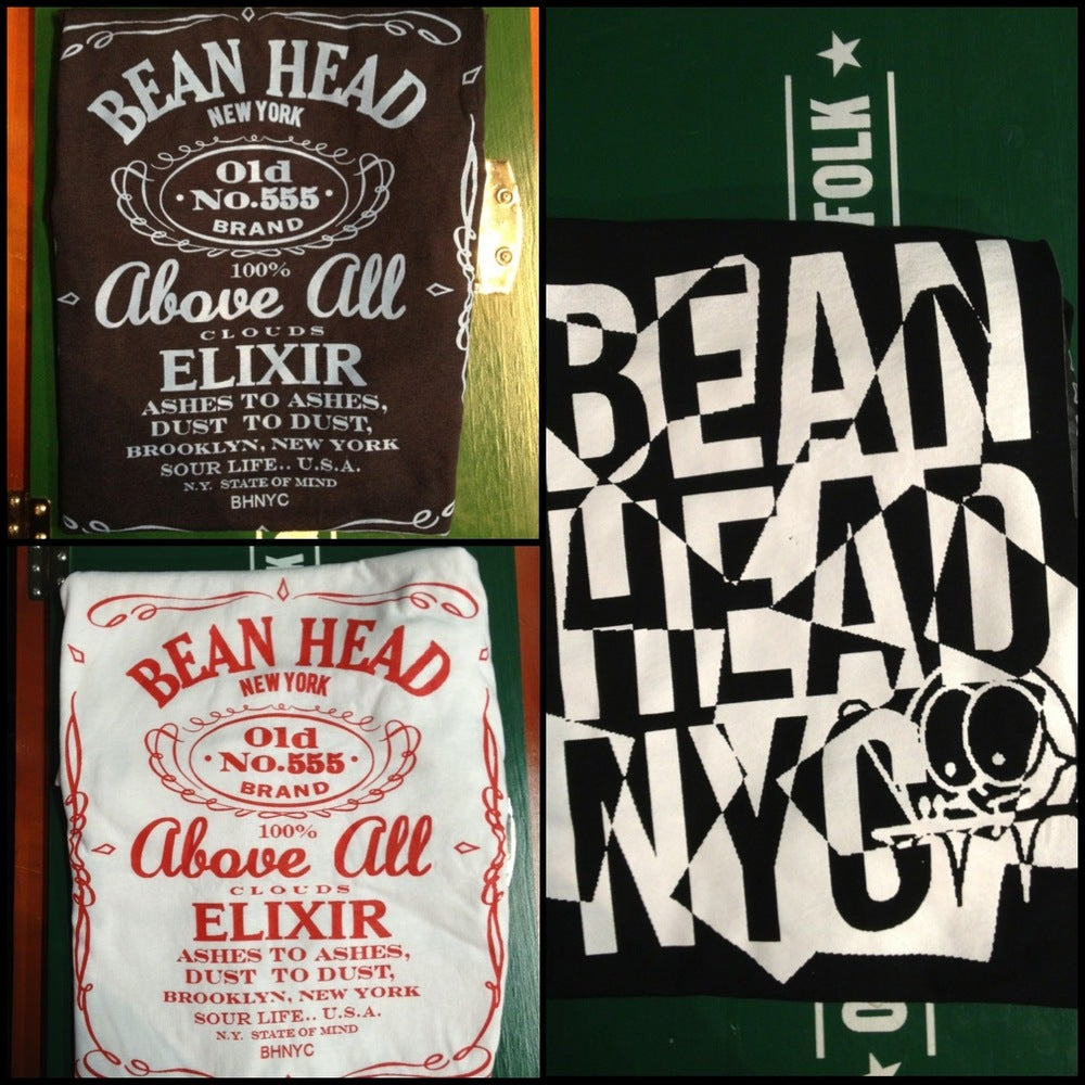 Image of Bean Head NYC T/Shirts