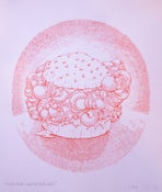 Image of Handburger Knuckle Sangwidge print by Mark Oliver