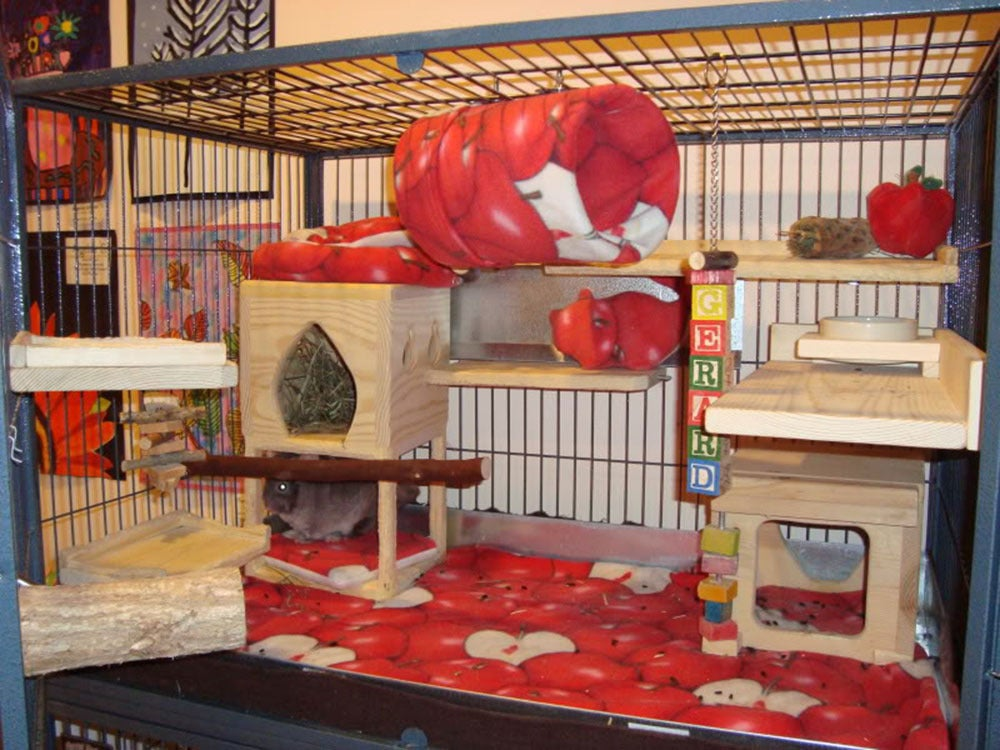 Image of Fleece Liner Sets for Cages