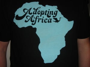Image of Adopting Africa Mens Tee - Black